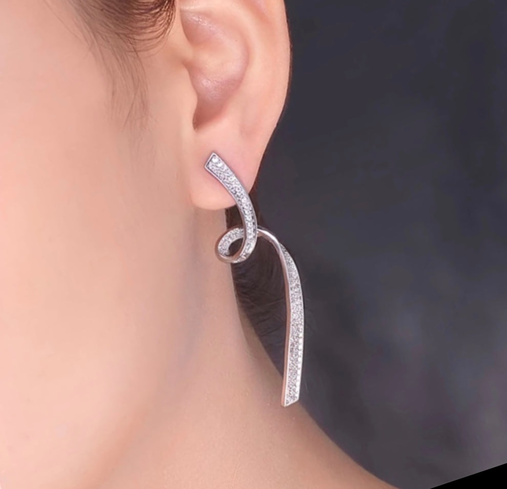 Trendy Twist Earrings