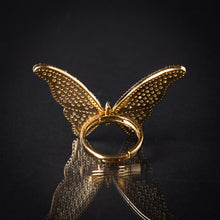 Gold Butterfly Ring