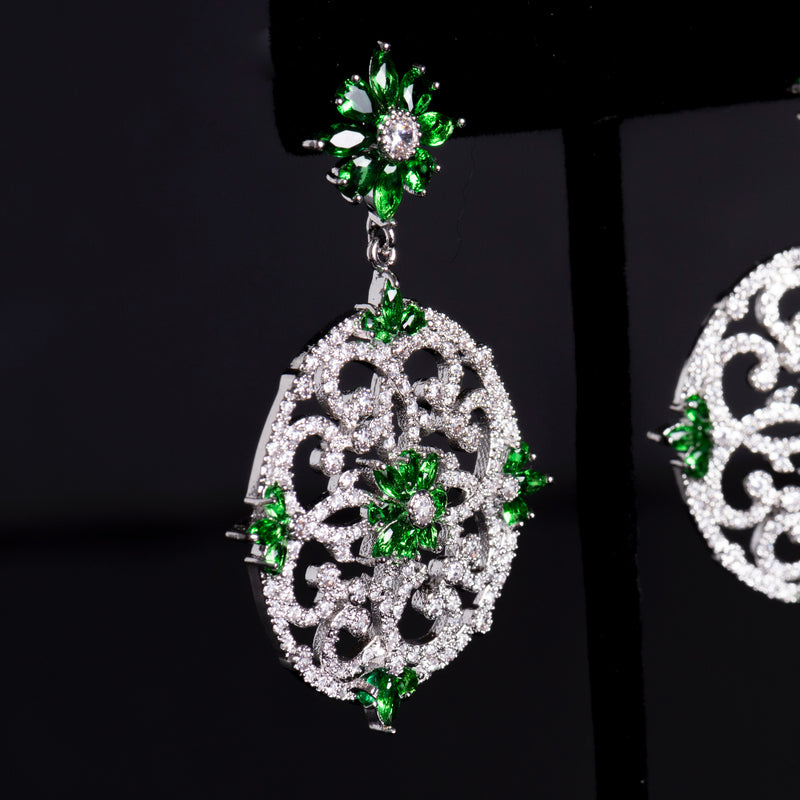 Emerald Earrings #1