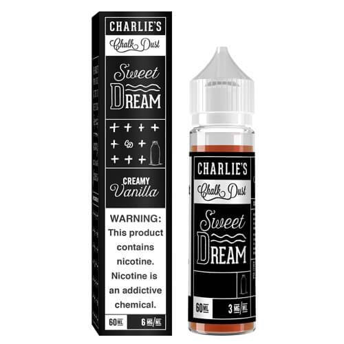 CHARLIE'S CHALK DUST EJUICE - SWEET DREAM - 60ML ejuice - Prying Eye, Vape shop, vape store, vaporizers, personal vaporizers, vapeshopsupply, vapeshopsupplier, Electronic cigarette, e-cigarette, ecigarette, ejuice, e-juice, e-liquid, eliquid, discount ejuice, discount e-juice, ejuice bundles