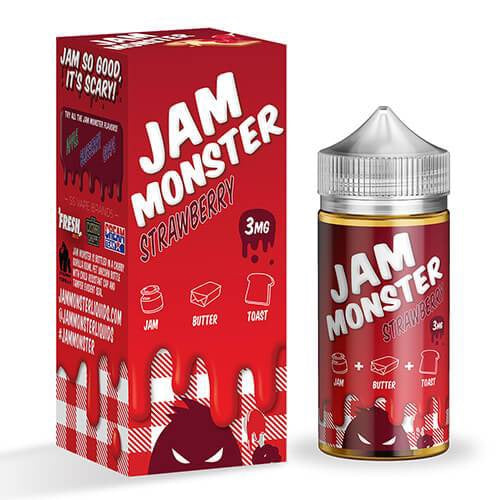Jam Monster Strawberry 100ml - Prying Eye
