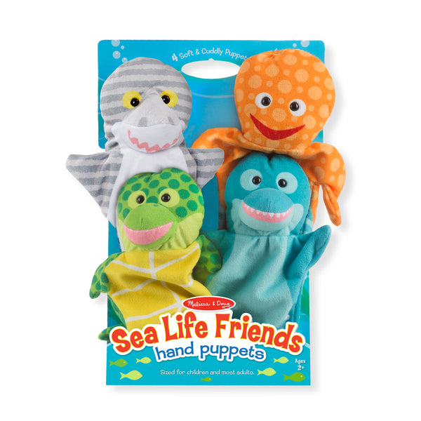 Melissa & Doug Sea Life Friends Hand Puppets
