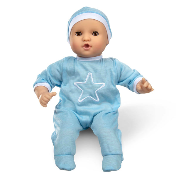 Melissa & Doug Mine to Love Jordan 12-inch Baby Doll