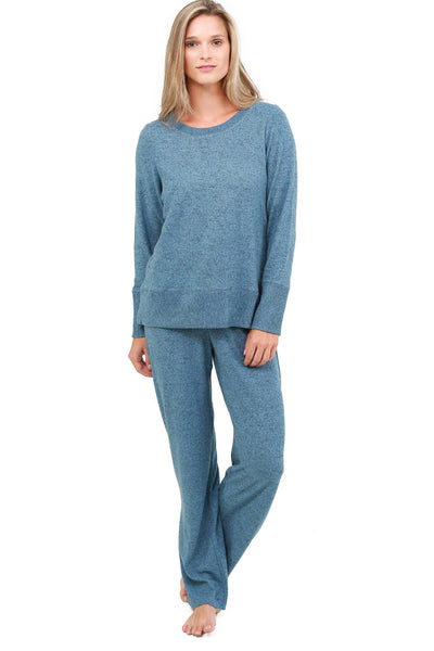 Jones New York Brushed Jersey Loungewear Set