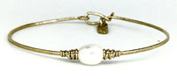 Serenity Pearl Bracelet by Earth Grace Artisan Jewelry