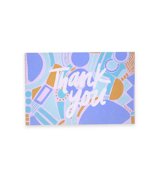 Multi Pack Set of 8 Thank You Postcards | Thimblepress
