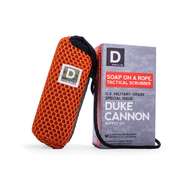 Tactical Soap on a Rope Scrubbing Pouch - Duke Cannon