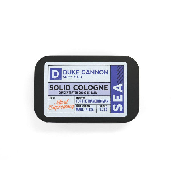 Solid Cologne - Sea - Duke Cannon