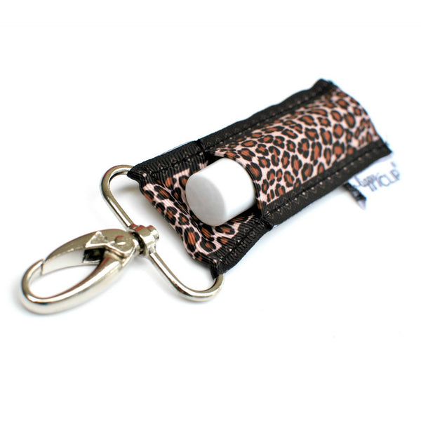 Leopard Print LippyClip Lip Balm Holder