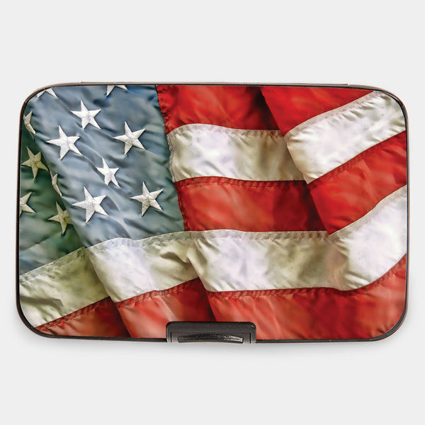 American Flag Armored Wallet