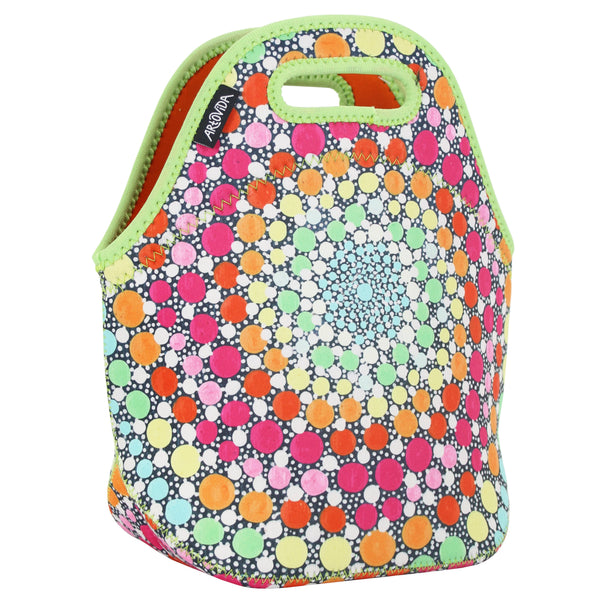 Insulated Lunch Bag Tote - Amy Diener - Lollipop, Lollipop | Artovida