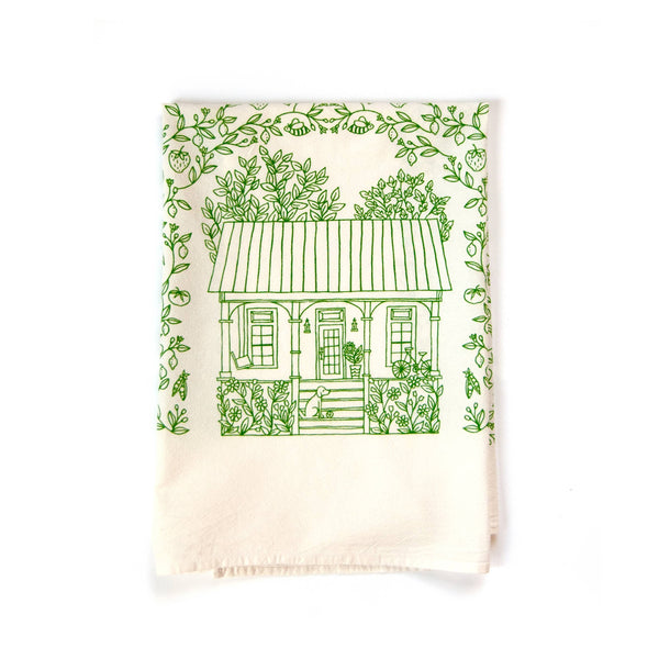 The Four Seasons Tea Towel - Summer