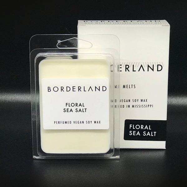Floral Sea Salt // Wax Melts | Borderland Candles