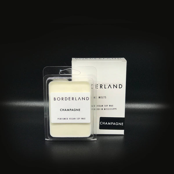 Champagne Wax Melt Borderland Candles