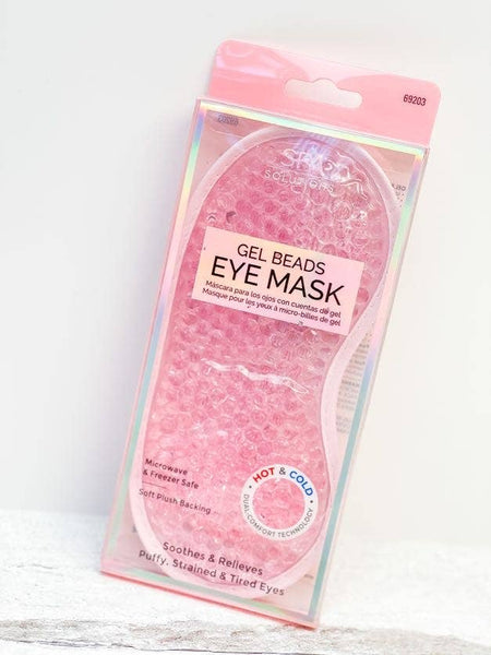 Gel Beads Eye Mask - Pink