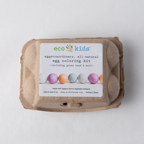 SALE! Egg Coloring and Grass Growing Kit | eco-kids