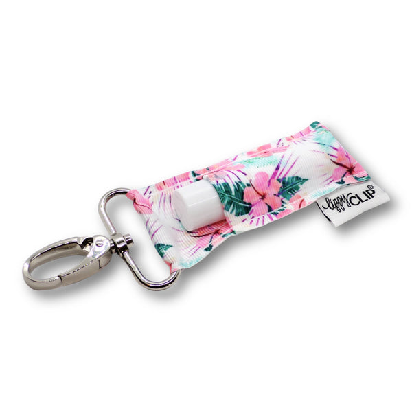 Hibiscus LippyClip® Lip Balm Holder