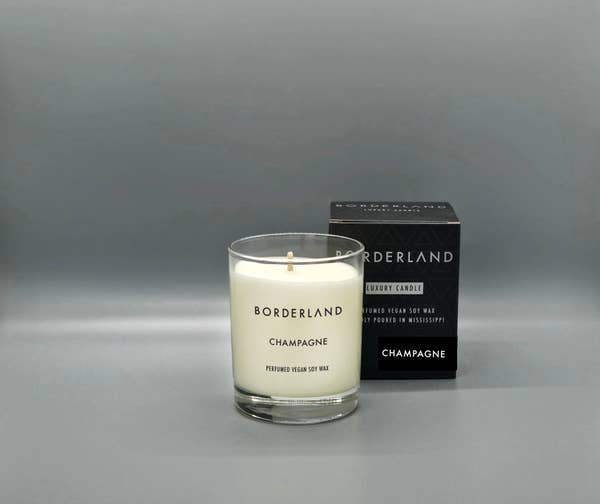 Champagne // 8oz Soy Candle | Borderland Candles