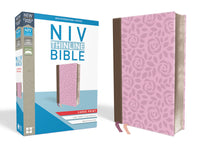 NIV Thinline Bible, Large Print, Imitation Leather, Pink, Red Letter Edition (Special) Large Print