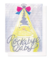 Thimblepress® Rock-A-Bye Baby Greeting Card
