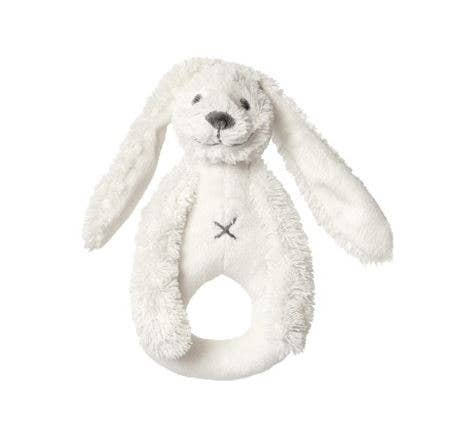 Ivory Rabbit Richie Rattle by Happy Horse