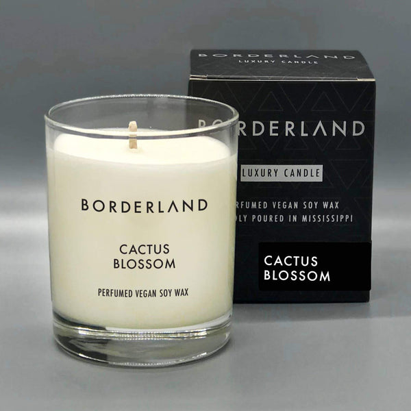 Borderland Candles - Cactus Blossom // 8oz Soy Candle