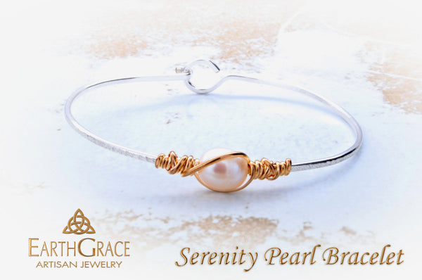 Serenity Pearl Child's Bracelet - Earth Grace Artisan Jewelry