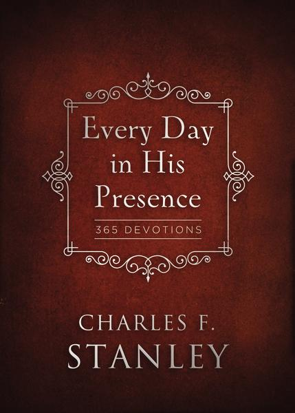 Every Day in His Presence Hardcover Devotional by Charles F Stanley