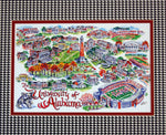 "University of Alabama ""Roll Tide"" Limited Edition Print by Linda Theobald Art"