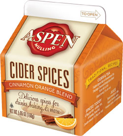 Aspen Spices Cinnamon Orange Blend 5.65 oz. Carton