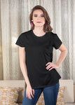 Luxe T-Shirt in Black