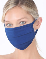 Solid Colors Washable Reusable Cotton Face Mask