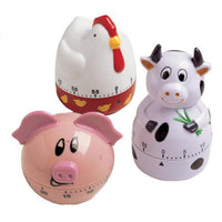 Farm Animals Kitchen Timers