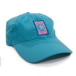 Gingham Sand Dollar Unstructured Performance Style Hat | Southern Fried Cotton