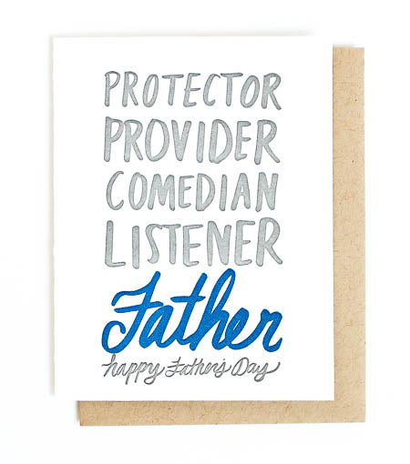 Thimblepress® Father's Day Greeting Card
