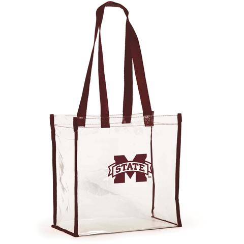 Mississippi State Clear Stadium Tote