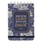 Trust In The Lord Wirebound Notepad