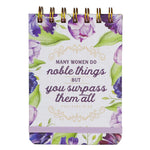 Noble Things Wirebound Notepad