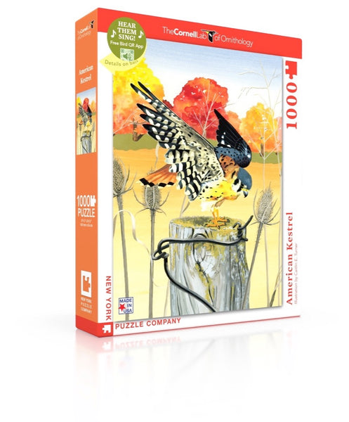 American Kestrel 1000 Piece Jigsaw Puzzle | New York Puzzle Company