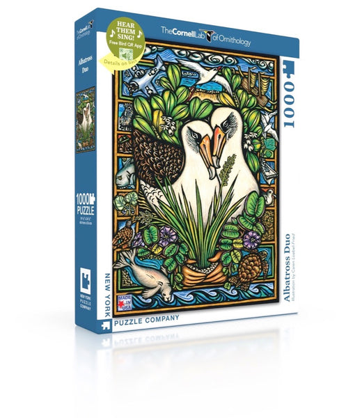 Albatross Duo 1000 Piece Jigsaw Puzzle | New York Puzzle Company