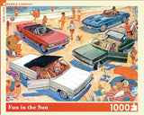 Fun in the Sun 1000 Piece Jigsaw Puzzle | New York Puzzle Company