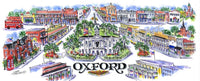 Oxford Mississippi Limited Edition Print