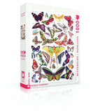 Butterflies ~ Papillons 1000 Piece Jigsaw Puzzle | New York Puzzle Company