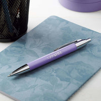 Be Still and Know Classic Pen in Purple - Psalm 46:10