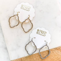 Pave Dangle Fashion Earrings