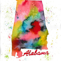 Alabama Tea Towel