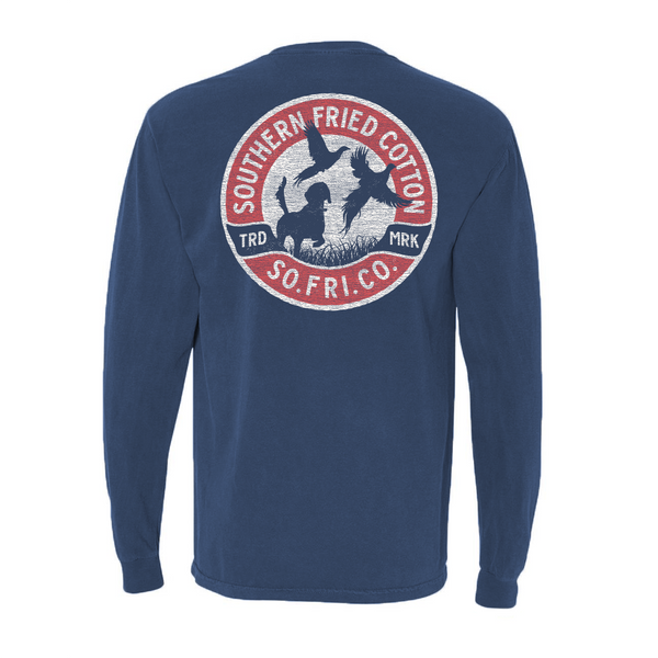 Fall Pheasant Long Sleeve T-Shirt | Southern Fried Cotton