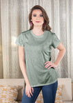 Luxe T-Shirt in Sage