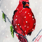 Snow Cardinal Boxed Note Card Set