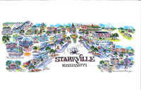 Starkville, Mississippi Limited Edition Print by Linda Theobald Art